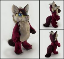 Thorn Plushie Commission by WispyChipmunk
