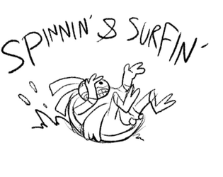 Spinnin' and Surfin' by MCGriffin