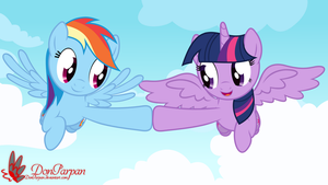 Let's fly together by WaveyWaves