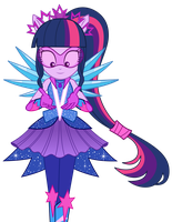 Twilight's crystal gala dress transformation by KeronianNiroro