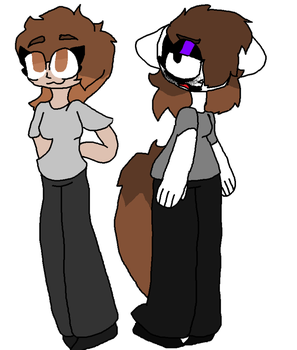 Katelyn And Annie re design. by fluffycatjeff