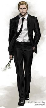 Cullen in a suit #2 by LilyRutherford