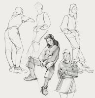 Sketches_people by SunnyJu
