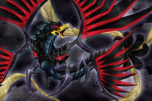 Black Feather Dragon by flamemirenchers