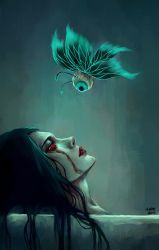 _silent tears of a woman_ by NanFe