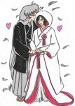 [REDRAW] Tradtional Japanese Wedding (SessNara) by KayKatKreations