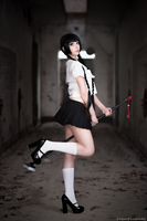 Zone-00 - Mayoko Okino cosplay by KiaraBerry