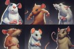Mice close ups. by BMacSmith