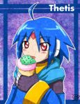 Thetis eats ice cream by Lady2011