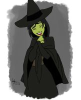 The Wicked witch of the west by PatriciaAlejo