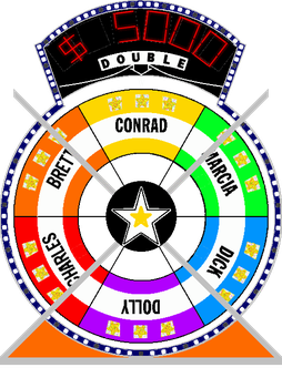 Star Wheel #5 $5,000 by mrentertainment