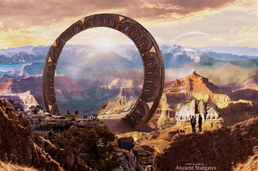 Ancient Stargates by The-ALLSTARR