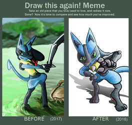 Draw This Again! [MEME] - Curio by NebulaDreams