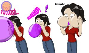 :COM: Lucy's Balloon Blowback by Arrowny18