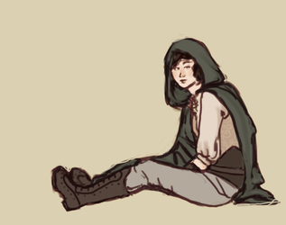 assassin's creed HA doodle by Penguinhoarder