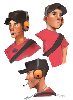 Scout Practice by Katze-Doshi