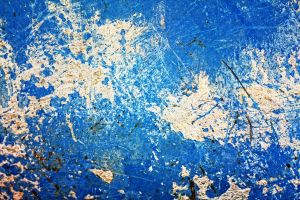 blue paint concrete texture by beckas