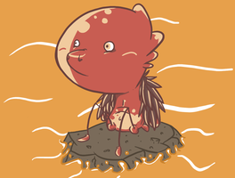 A big glob of lava by nidit