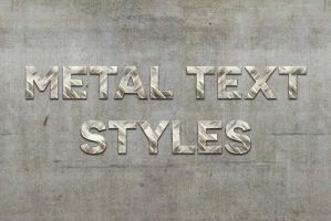 Free Metal Text Styles by symufa