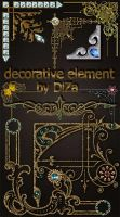 DiZa decorative element by DiZa-74