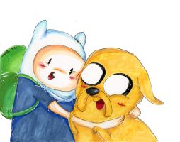 -:-Adventure Time-:- by KirbySuperStar96