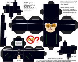 Villains 2: Catwoman Cubee by TheFlyingDachshund