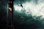 A belief like a guillotine by PhoenixWerthan