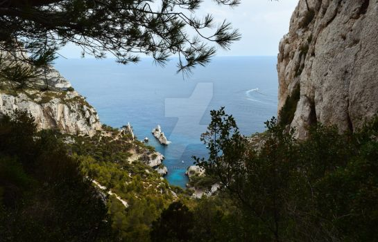 Calanque by CliveAnthony