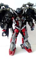 Lord Icarax - Makuta of War - Bionicle MOC by Crimson-eyed-sermon