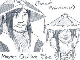 Old Sketches -- Master Chu'lun by Iivari-Matias