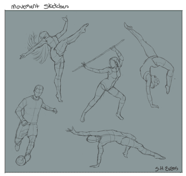 Movement sketches by shevans