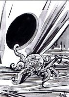War of the Worlds sketchcard 05 by RobertHack
