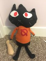 Mae Night In The Woods Plush (FOR SALE) by DelilahPines