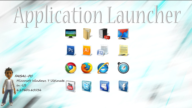 Application Launcher by Faisalharoon
