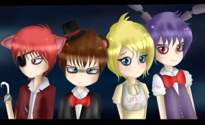Five nights at Freddy's by TakyHime