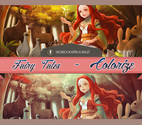 Fairy Tales - Colorize by SrtaScarlet