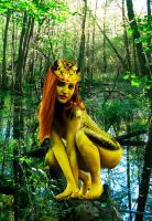 Frog Woman of the Swamp by Rene-L