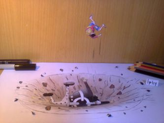 3D Drawing-One Piece by Iphy-Alzelvin