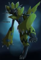 Zeraora by Mosswing7
