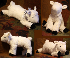 Lamb-plushie FOR SALE by IsisMasshiro