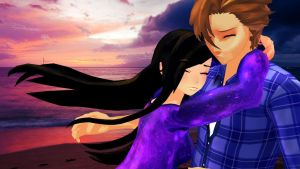 .: Aphmau and Garroth :. [MMD x Mystreet] by CurryKitten