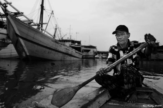 The Ferry man by ditya
