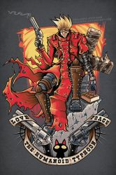 Trigun: The Humanoid Typhoon by TrulyEpic