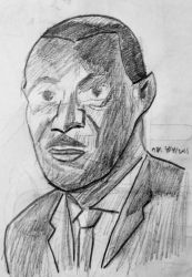 Martin Luther King by BrendanRizzo