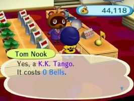 Tom Nook's Song Piracy by nickjuly4