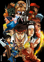 Street Fighter tribute by GeeHALE