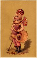 Victorian Advertising - Little Ruby Sprite by Yesterdays-Paper