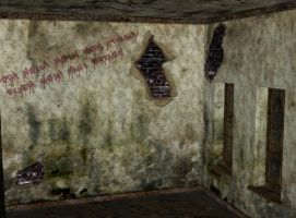 abandoned asylum room 27 by Ecathe