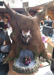 Druid Tree Dice Tower by CorruptTempest