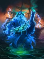 Captain Shivers for Hearthstone by namesjames